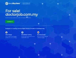 doctorjob.com.my screenshot