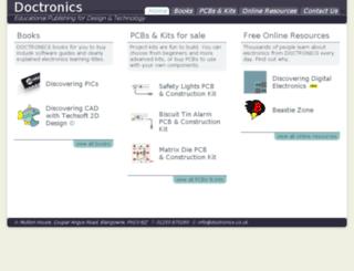 doctronics.co.uk screenshot