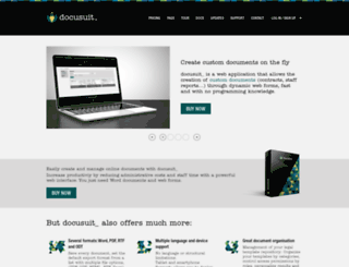 docusuit.com screenshot