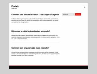 dodatki.net screenshot