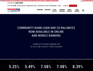 dodcommunitybank.com screenshot