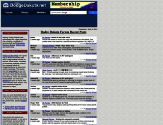 dodgedakota.net screenshot