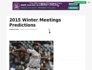 dodgersdiary.sportsblog.com screenshot