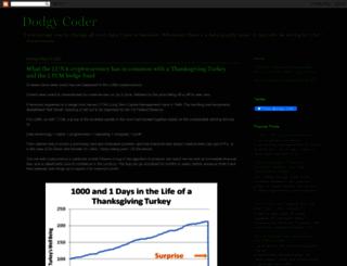 dodgycoder.net screenshot