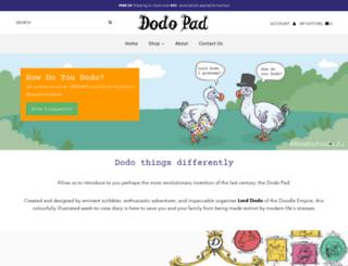 dodopad.com screenshot