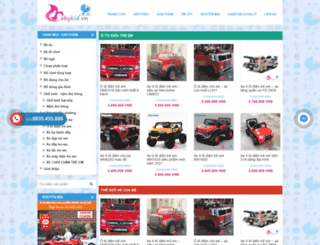 dodungbaby.com screenshot
