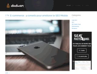 dodwan.com screenshot