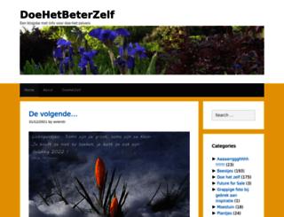 doehetbeterzelf.com screenshot