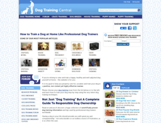 dog-obedience-training-review.com screenshot
