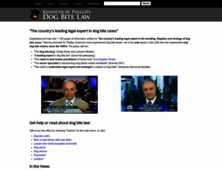 dogbitelaw.com screenshot