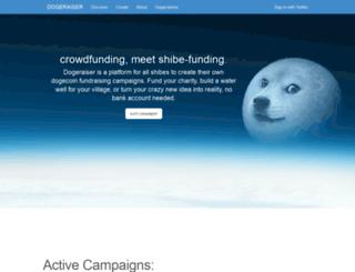 dogeraiser.com screenshot