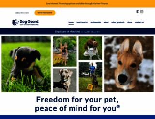 dogguardmaryland.com screenshot
