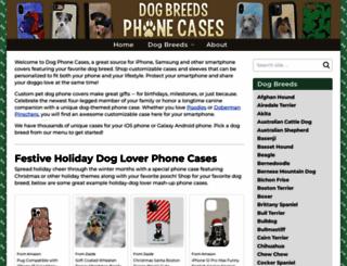 dogphonecases.com screenshot