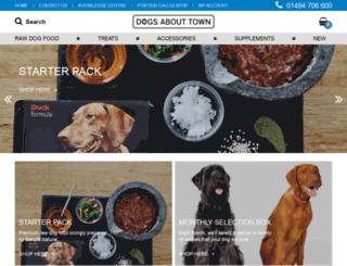 dogsabouttown.co.uk screenshot
