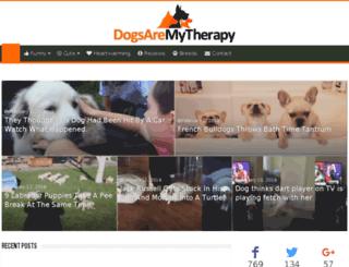 dogsaremytherapy.com screenshot