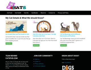 dogscatsandpets.co.uk screenshot