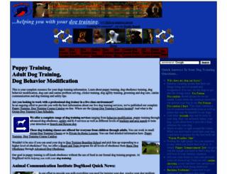 dogskool.com screenshot