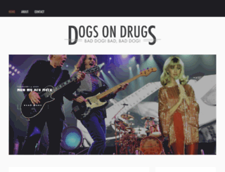 dogsondrugs.com screenshot