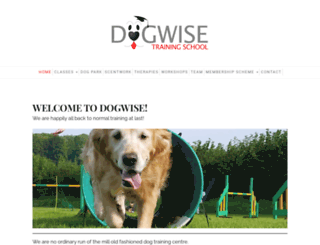 dogwisetraining.net screenshot