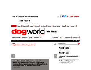 dogworld.co.uk screenshot