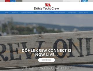 dohle-yachtcrew.com screenshot