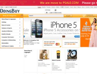 doingbuy.com screenshot