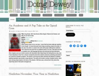 doingdeweydecimal.com screenshot