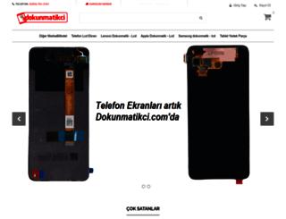 dokunmatikci.com screenshot