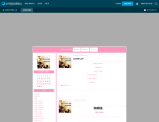 dokutoku-ai.livejournal.com screenshot