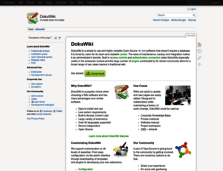 dokuwiki.org screenshot