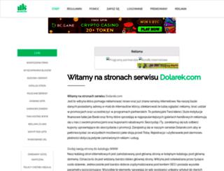 dolarek.com screenshot