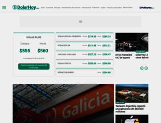 dolarhoy.com screenshot