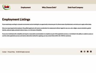 dolecareers.silkroad.com screenshot