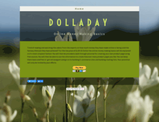 dolladay.yolasite.com screenshot