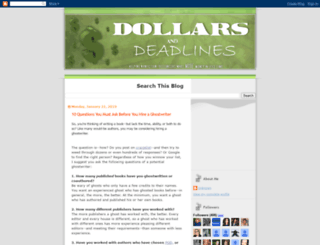dollarsanddeadlines.blogspot.com screenshot