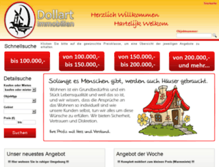dollart-immobilien.de screenshot