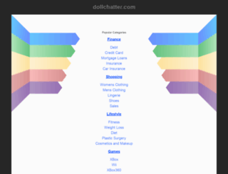 dollchatter.com screenshot