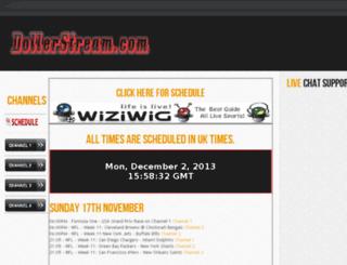 dollerstream.com screenshot