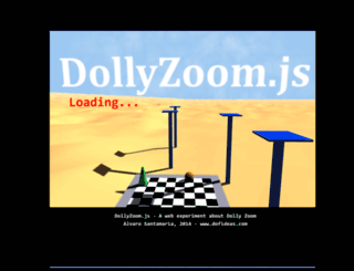dollyzoom.herokuapp.com screenshot
