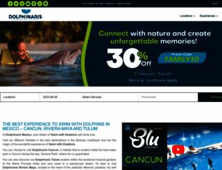 dolphinaris.com screenshot