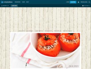 dolphy-tv.livejournal.com screenshot
