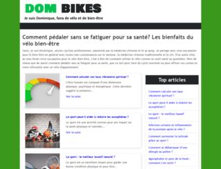 dom-bikes.com screenshot