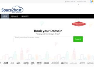 domain.space2host.com screenshot