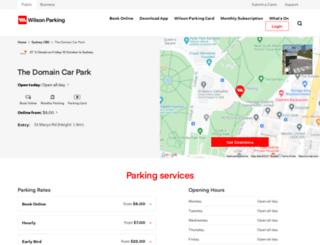 domaincarpark.com.au screenshot