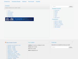 domaincom.co screenshot