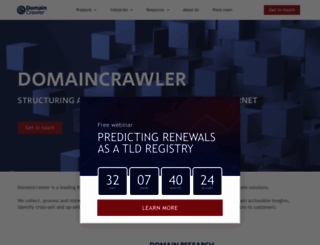 domaincrawler.com screenshot