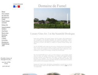 domainedefumel.com screenshot
