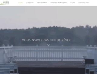 domainedelabutteronde.fr screenshot