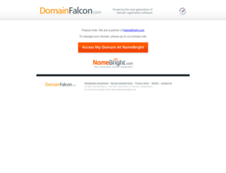 domainfalcon.com screenshot