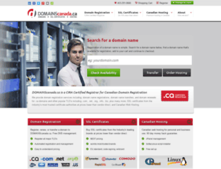 domainscanada.ca screenshot